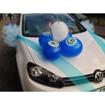Auto versieringen voor besnijdenis feestje